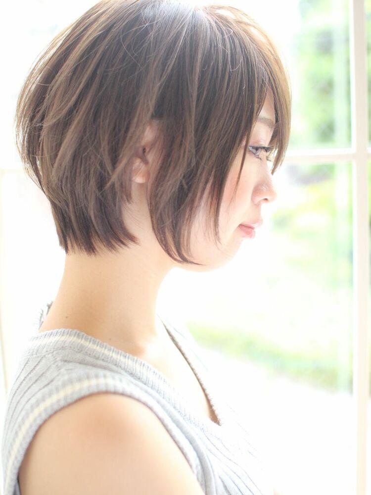 大人かわいい前下がりショート☆宮崎えりな インスタ→@miyazaki.erina
