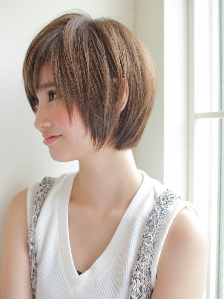 丸みショート 宮崎えりな インスタ→@miyazaki.erina ショートが得意です♡