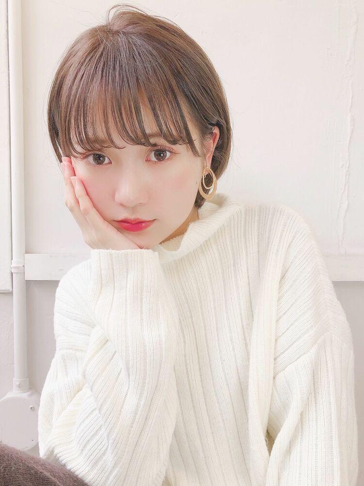 愛され耳かけショート 宮崎えりな インスタも見てみて下さい☆→@miyazaki.erina