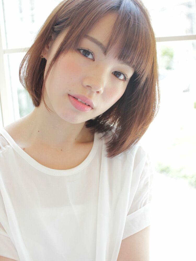 ひし形ミディアムボブ☆宮崎えりな インスタも見てみて下さい☆→@miyazaki.erina