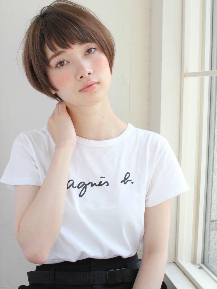 ナチュラルマッシュショート 宮崎えりな インスタも見てみて下さい☆→@miyazaki.erina