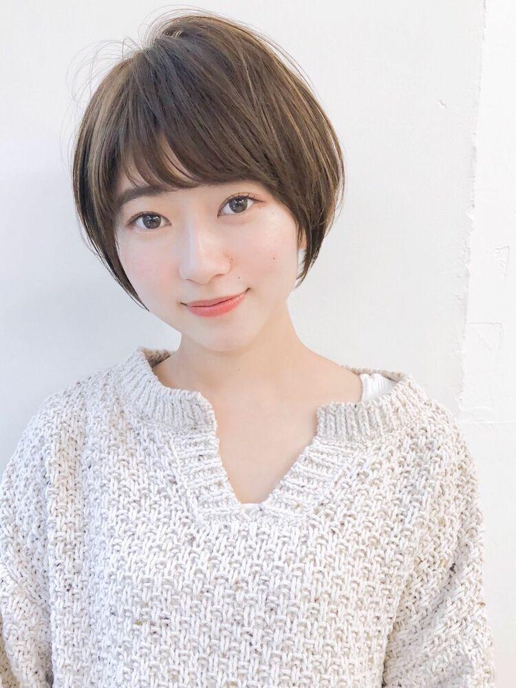 耳かけマッシュショート 宮崎えりな インスタも見てみてください☆→@miyazaki.erina