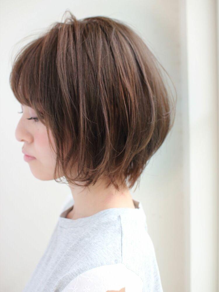 外はね軽めボブ 宮崎えりな インスタも見てみて下さい☆→@miyazaki.erina