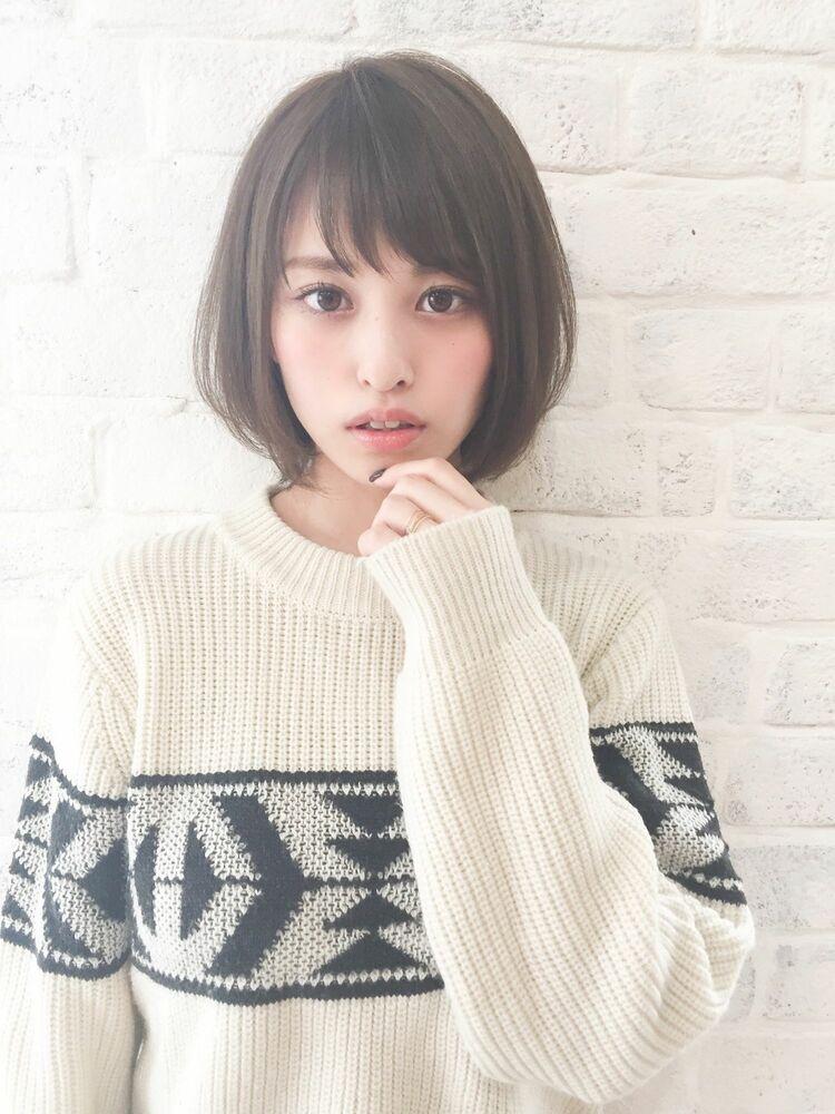 ひし形ボブ 宮崎えりな インスタも見てみて下さい☆→@miyazaki.erina