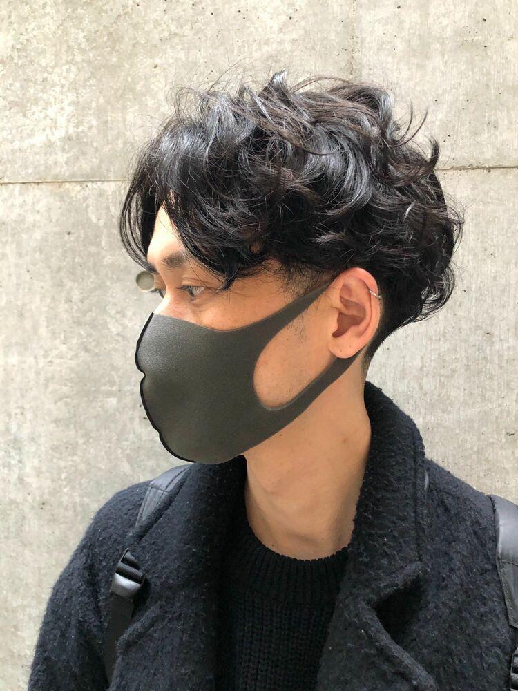 ASSORT TOKYO メンズパーマスタイル ツーブロック