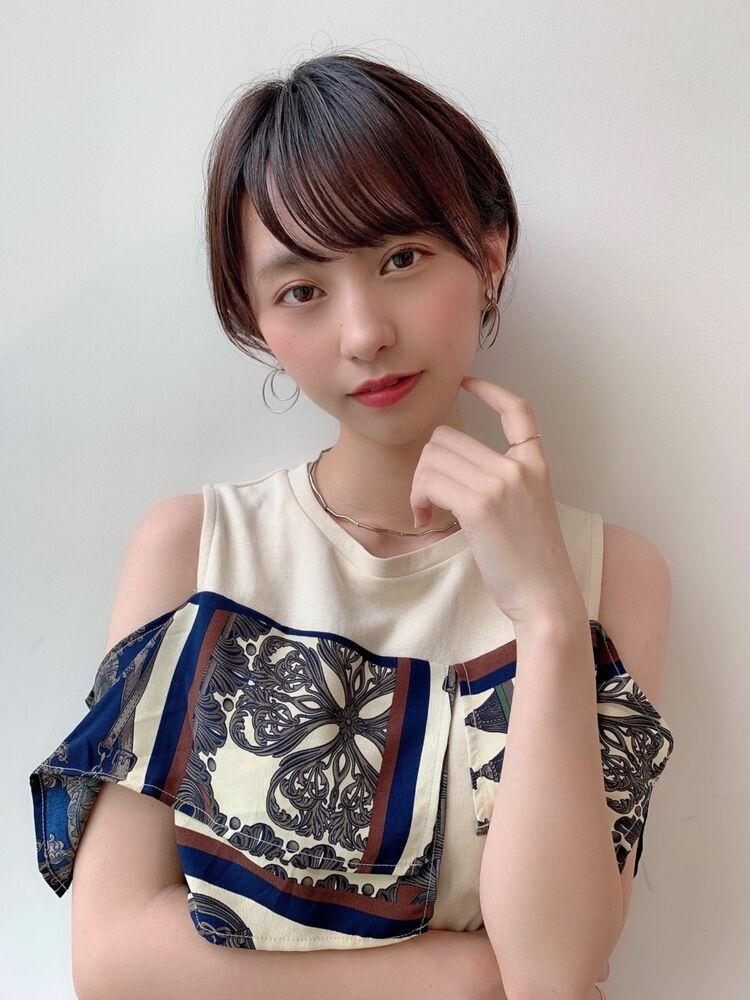 大人可愛いショートヘアGARDEN harajuku  羽田 ひろむ
