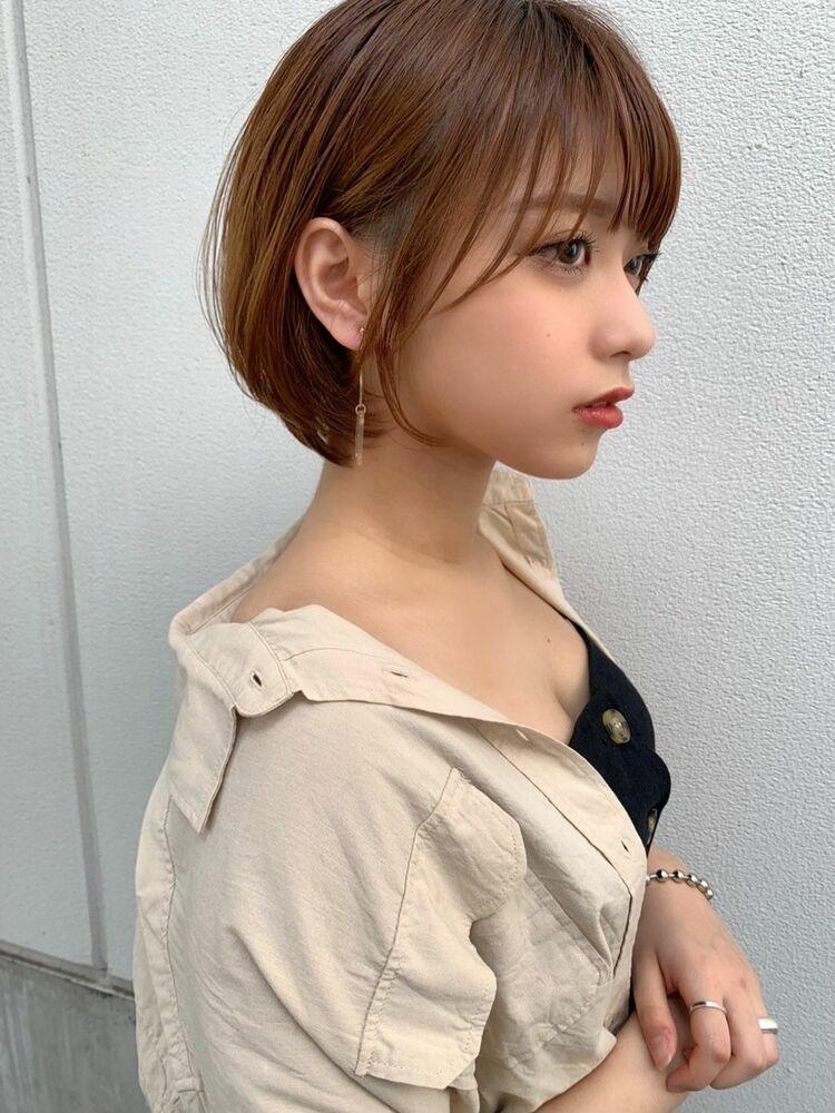 大人可愛いショートヘアGARDEN harajuku 羽田ひろむ