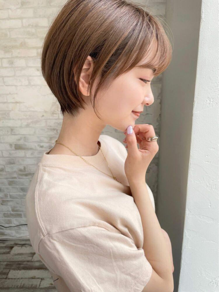 大人可愛いショートヘア joemi by unami 羽田 ひろむ