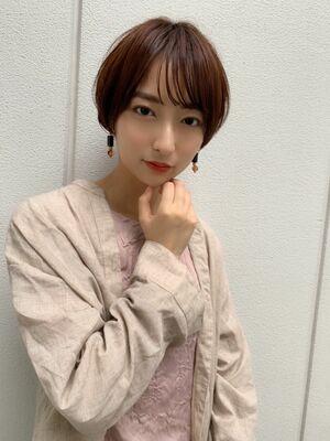 大人可愛いショートヘアGARDEN harajuku 羽田 拡