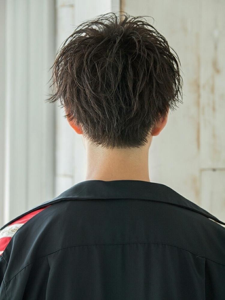 スパイラルパーマ マッシュ 濡れ髪 『ダヴィンチマッシュ』