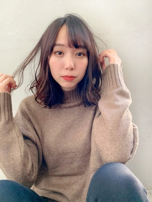 Joemi 新宿駅直結☆ゆるふわフェザーミディ 若林