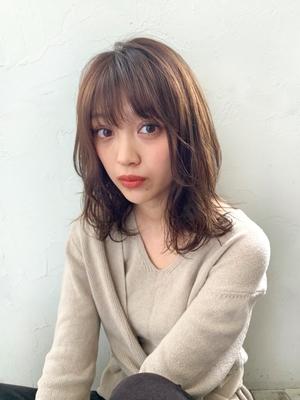 joemi 新宿☆ゆるふわ無造作フェザーパーマ 若林