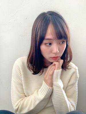 Joemi 新宿駅直結☆ゆるふわニュアンスミディ 若林