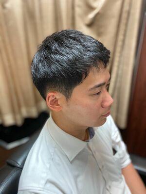 大人刈上げ/新橋/BARBER/バーバー/理容室