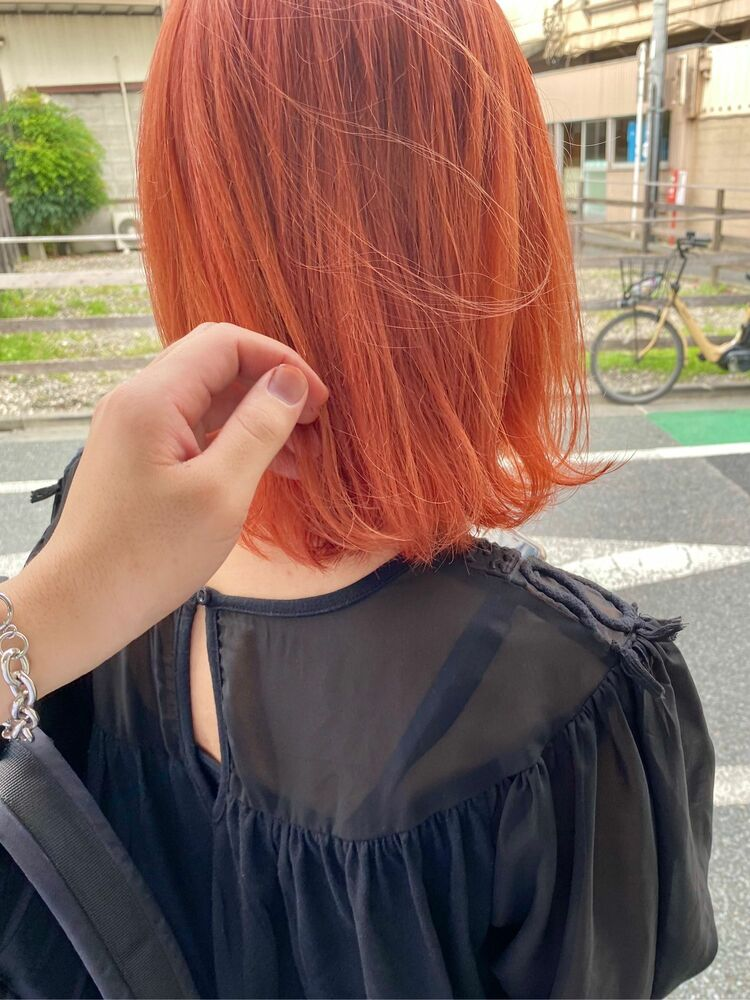 オレンジピンク