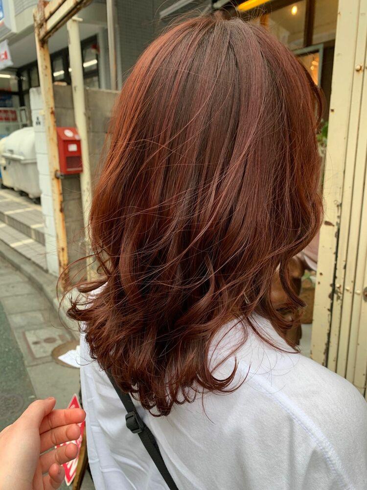 高発色レッドブラウン