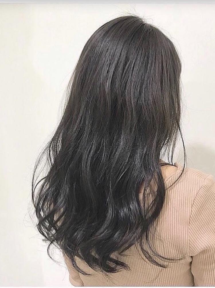&STORIES豊岡いつき ロング グレージュ 巻き髪