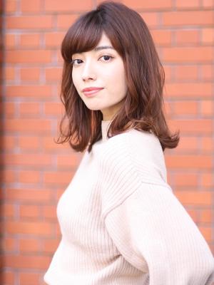&STORIES豊岡いつき ミディアムヘア 艶髪 oggiotto