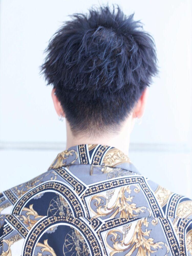 夏っぽさ全開黒髪ショート!デュークショート