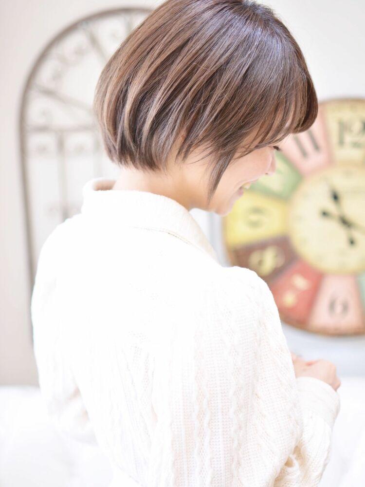 大人可愛いショート・インスタグラム @shiko_kajihara