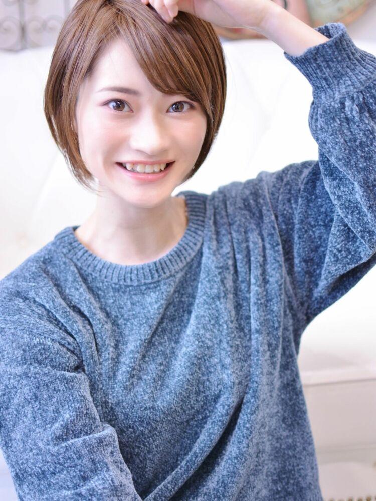 大人可愛いショートボブ・インスタグラム@shiko_kajihara
