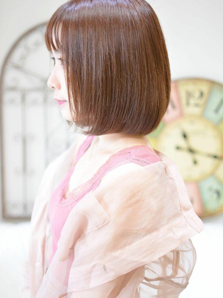 ナチュラルボブ・インスタグラムID:shiko_kajihara