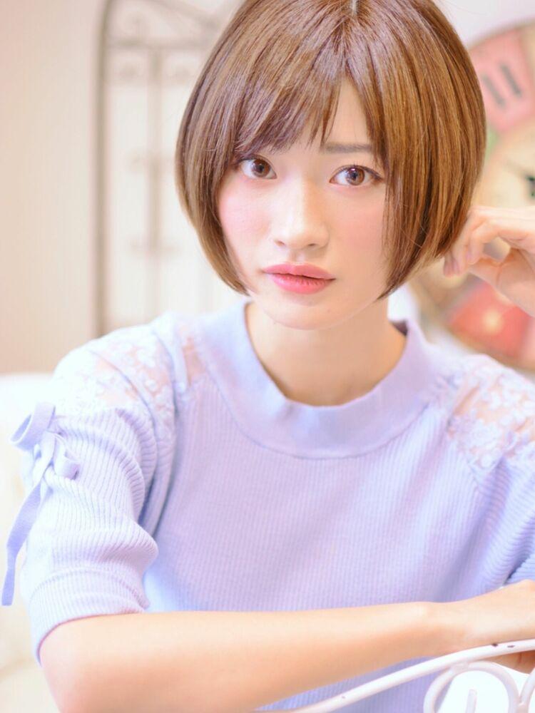 大人可愛いグラボブ・インスタグラムID:shiko_kajihara