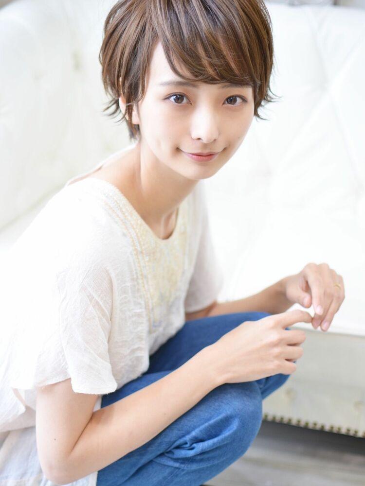 大人可愛い爽やかショート・インスタグラム @shiko_kajihara