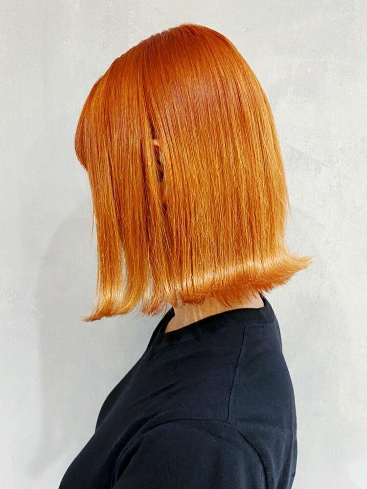 オレンジボブ_ba304342