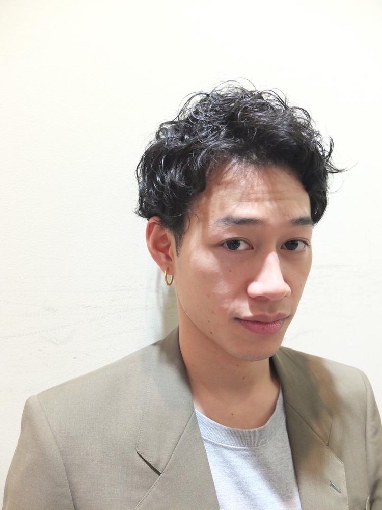 LIBERTY-H勝どき久代雄太 強めパーマがかっこいいビジカジスタイル★