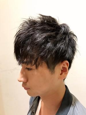 LIBERTY-H勝どき 久代雄太ツーブロックショート