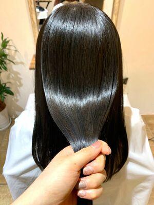 髪質改善トリートメント/地毛風カラー