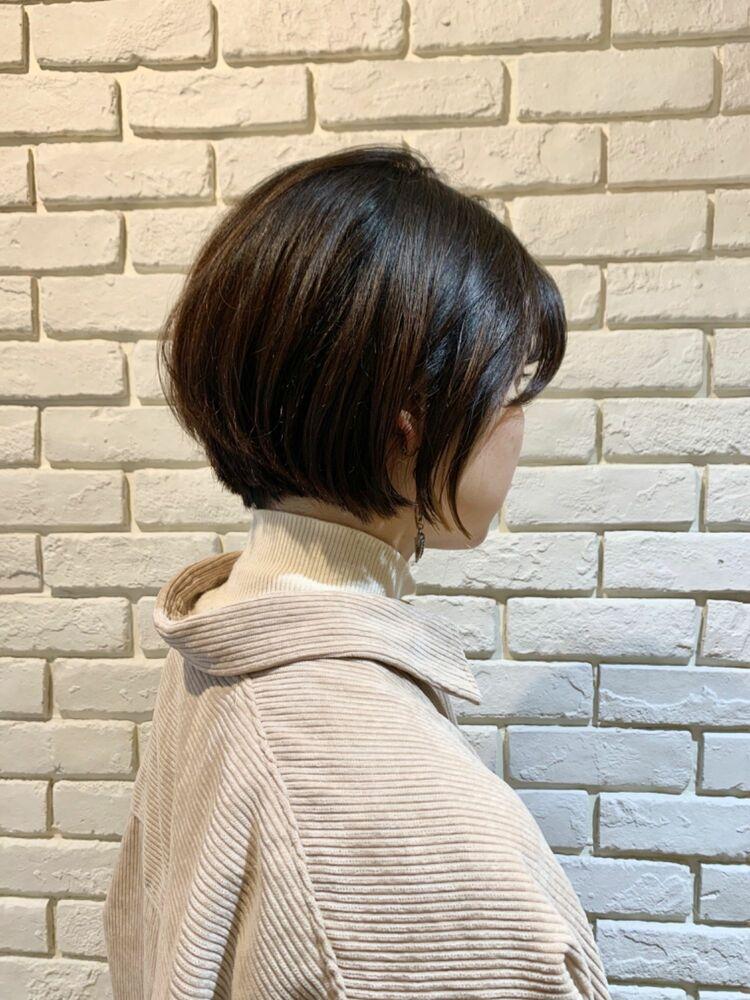 小顔補正カット/ショートボブ