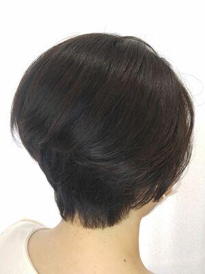 ハンサムショートでもて髪。スタイルチェンジで運気UP。