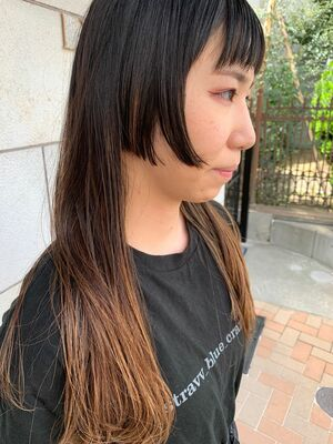 【mode×姫カット】Before→after