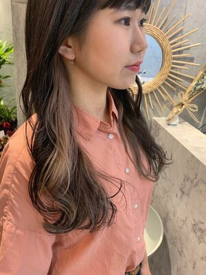longhair ×インナーカラー