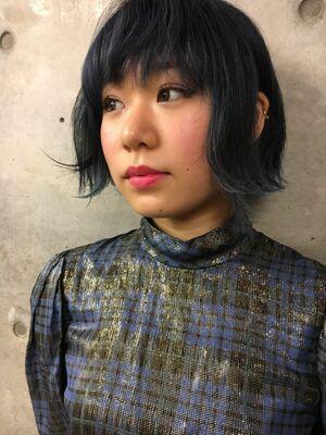『カラーリストnana』ASSORT TOKYOディープブルーカラー