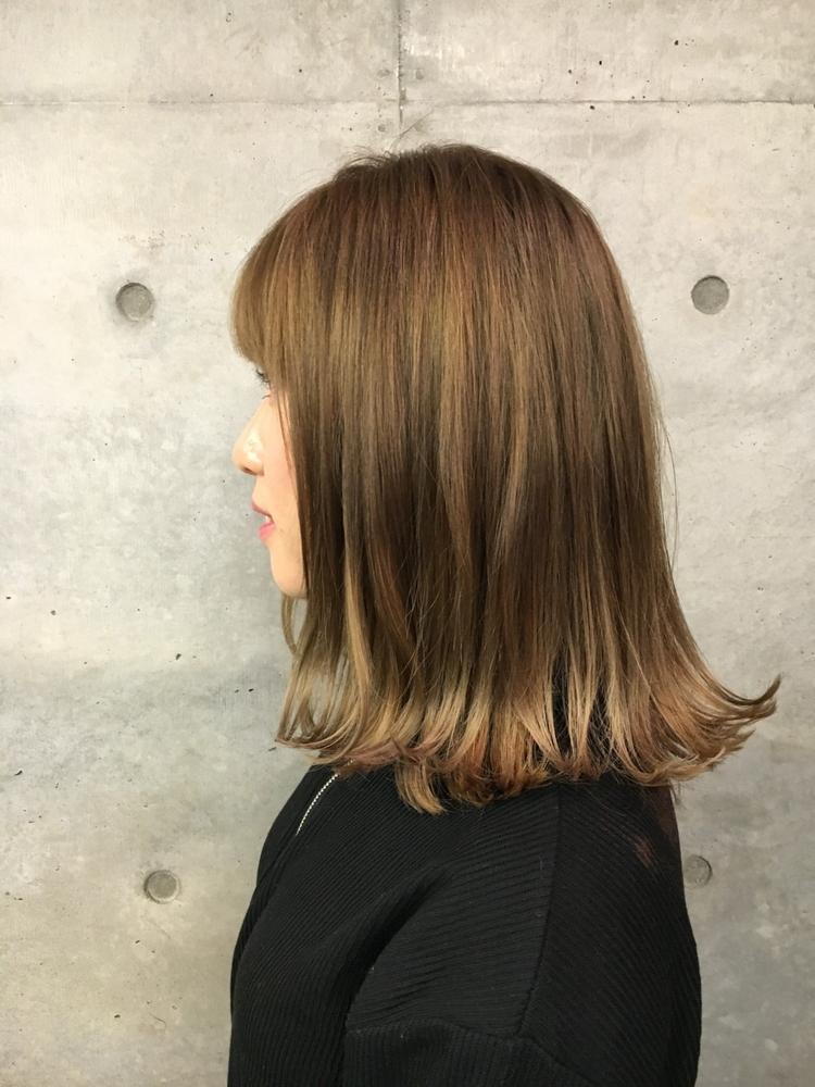 『ASSORT TOKYO』Senior colorist NANA シルキーカラー