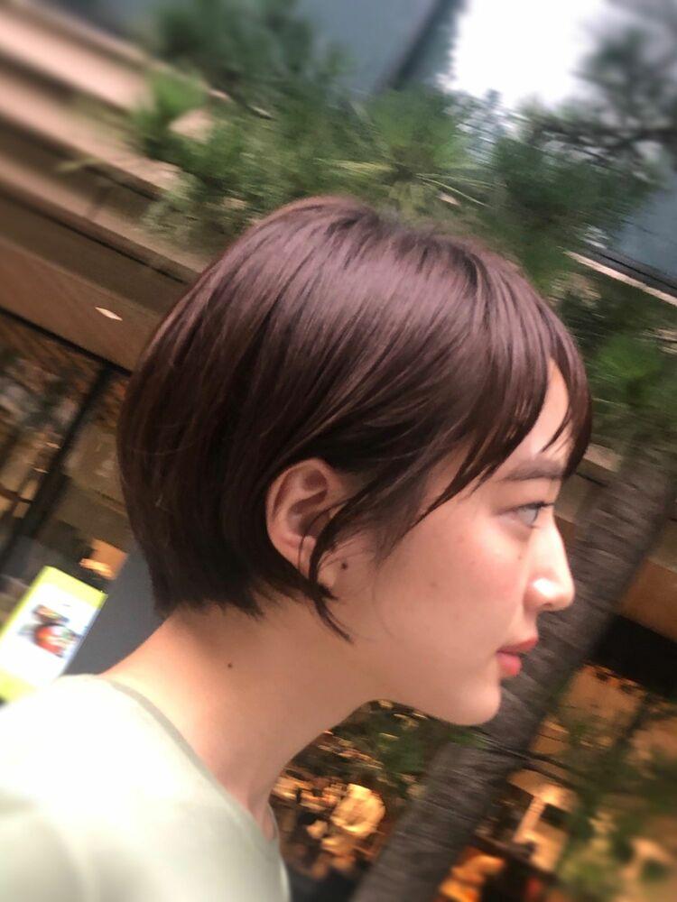 頭が小さく見えるショートボブカット武蔵新城ショートカットボブカットが得意な美容院 丸山