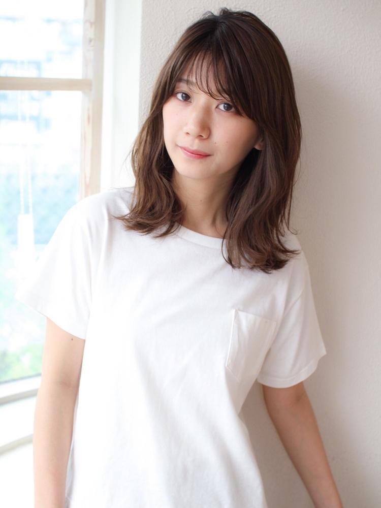 表参道  山口祥   カジュアルな服装に合う大人可愛いくびれヘア