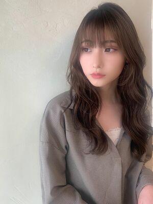 韓国風ヘア