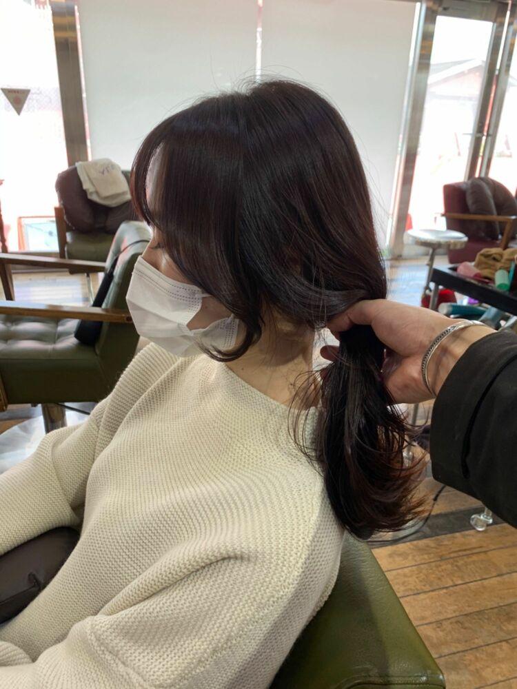 韓国後れ毛