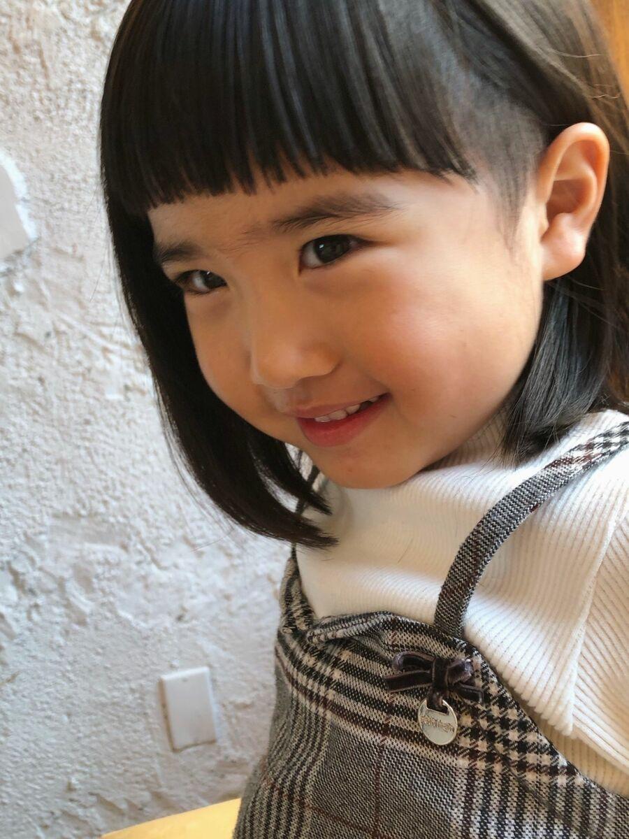 女の子髪型!ソフトツーブロックスタイル