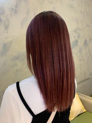髪質改善カラー  トリートメント
