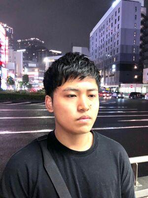 ゆるーいパーマ👈🏾 理容室 五反田 バーバー barber