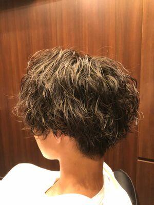 ゆるーいパーマ💈💈💈💈五反田/床屋/barber/理容師/高野