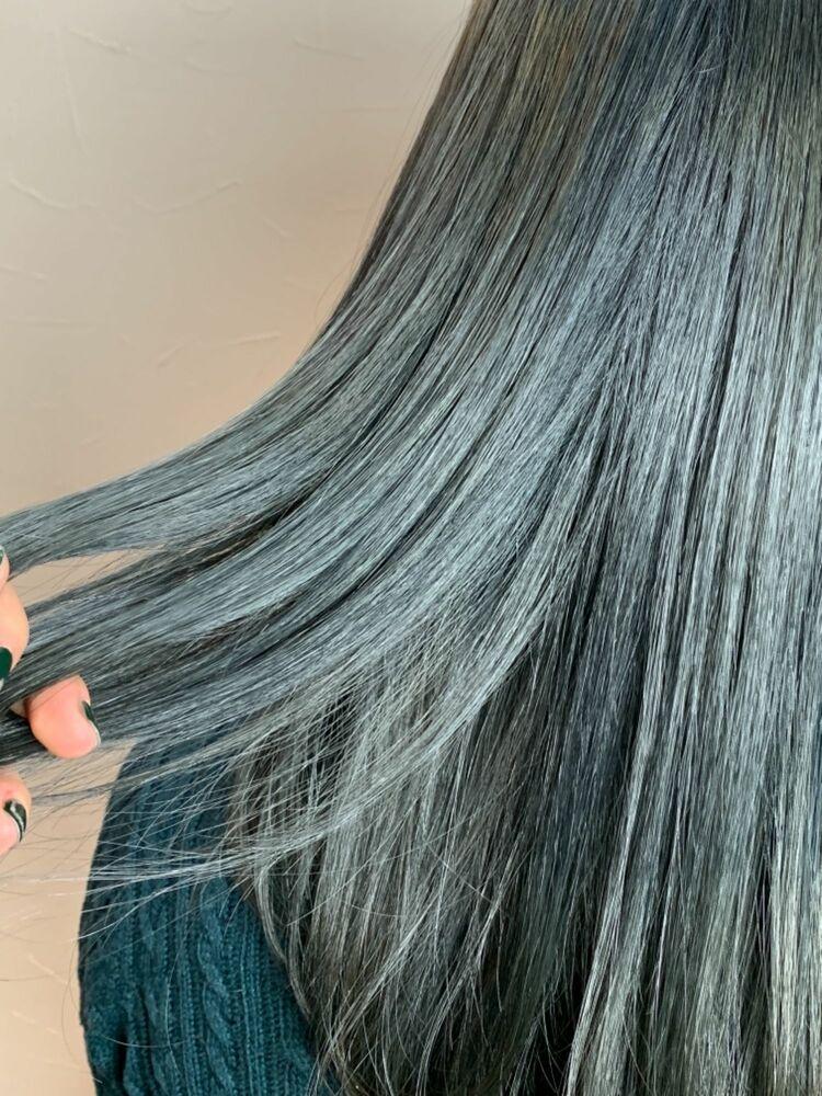 髪質改善サロンソリューション・アッシュグレージュ