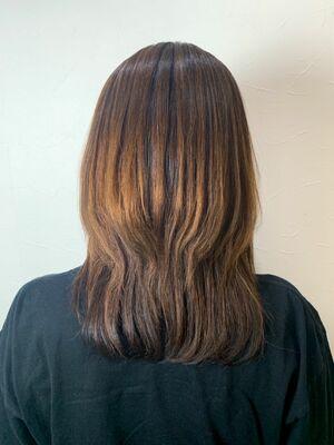大人のウルフカット🐺縮毛矯正 髪質改善サロンソリューション