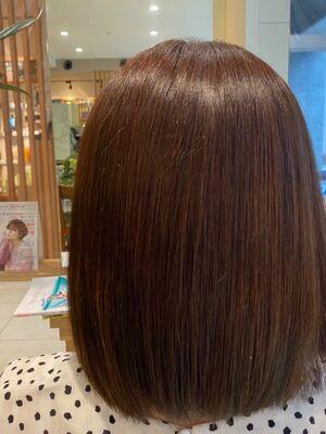 髪質改善ヘア