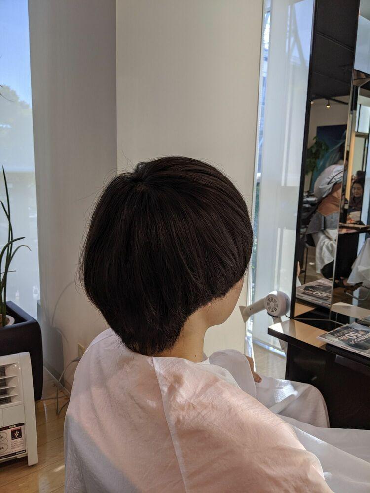 MissEssence甲斐/マッシュ 刈り上げ メンズ ショート 小顔 卵型 ブロースタイル